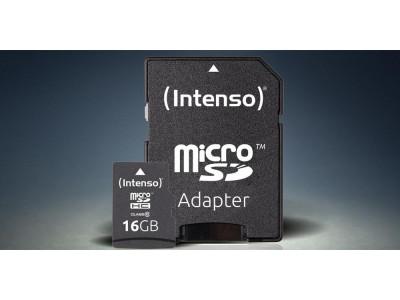 Зустрічайте новинки на сайті! Німецький бренд Intenso і його microSD карти пам'яті