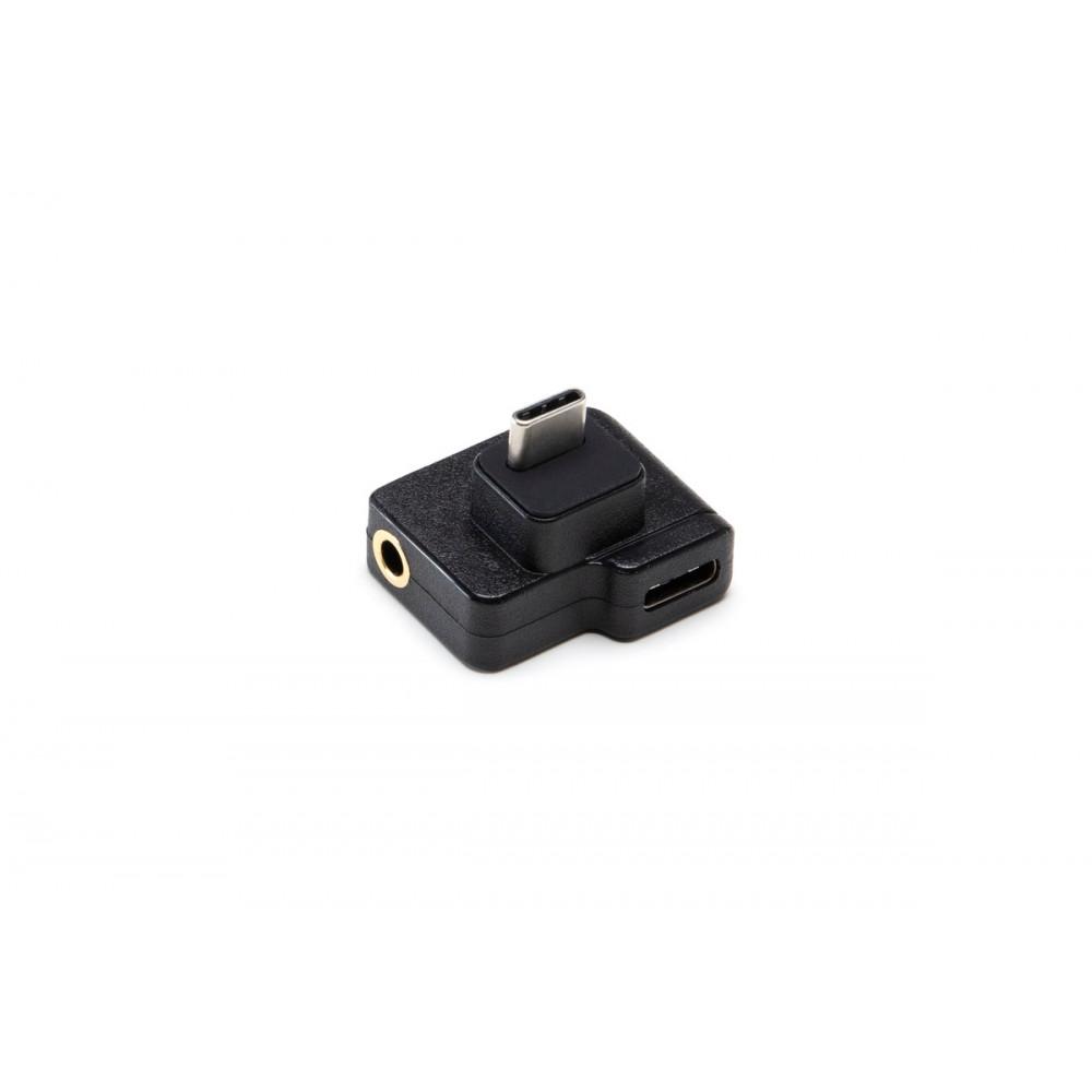 Адаптер CYNOVA Dual 3.5mm/USB-C для DJI Osmo Action