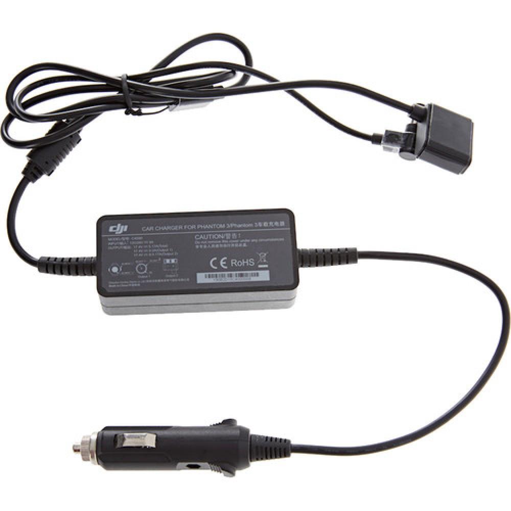 Автомобільний зарядний пристрій для DJI Phantom 3