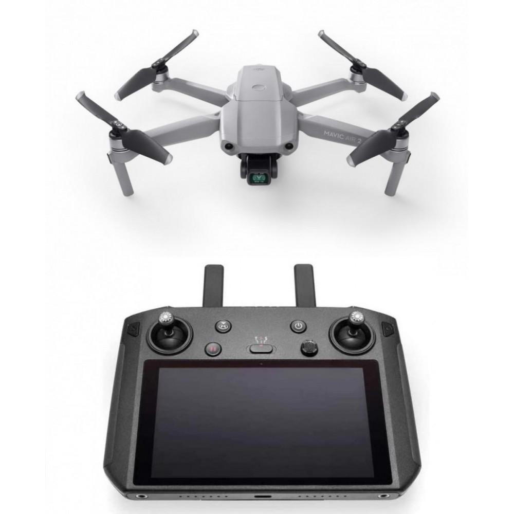 Квадрокоптер DJI Mavic Air 2 Fly More Combo (DJI Smart Controller)