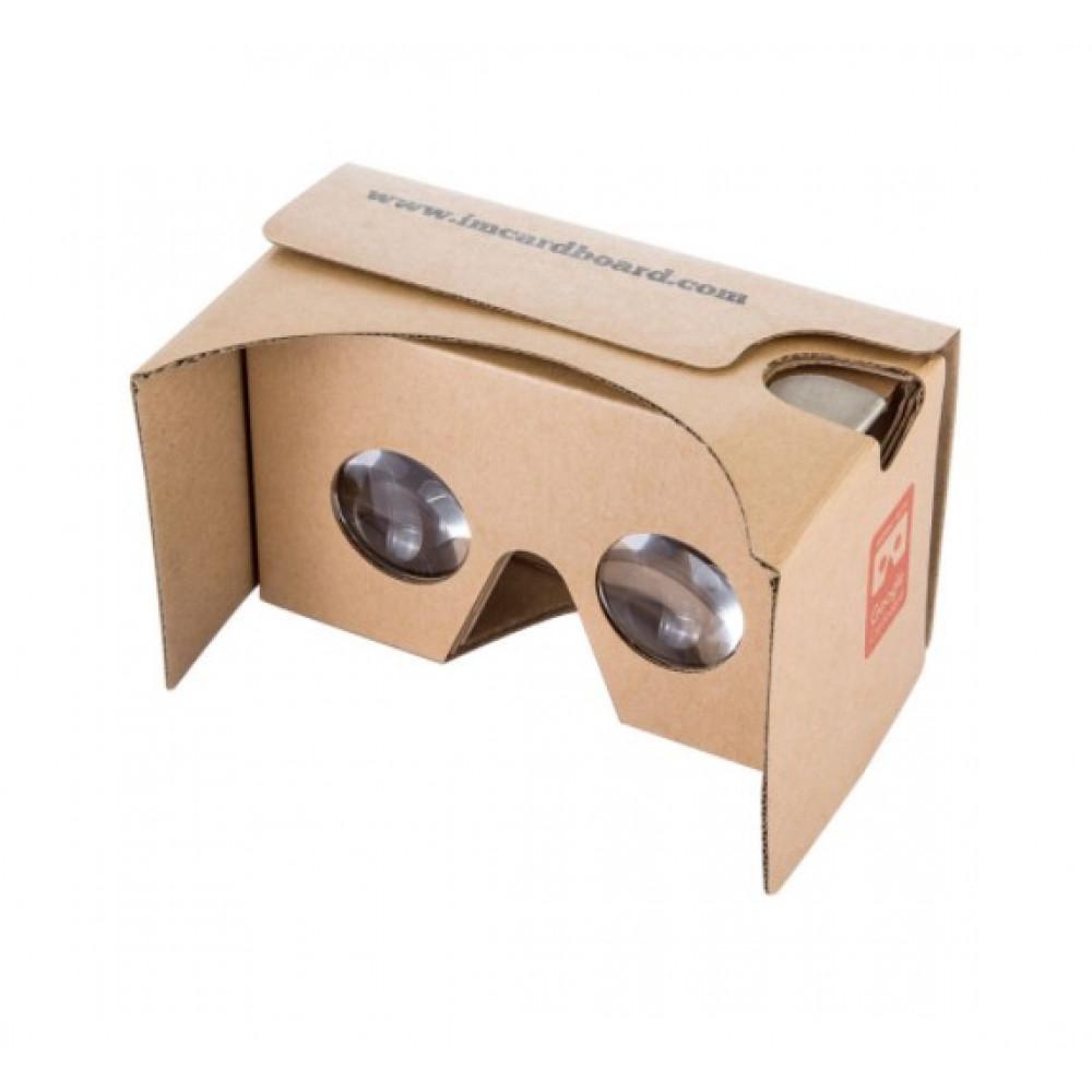 Окуляри віртуальної реальності IAC V2 Cardboard VR kit в корпусі із картона
