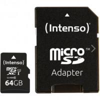 Карта пам'яті Intenso Micro SD Card Class 10 64GB SDXC