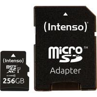 Карта пам'яті Intenso Micro SD Card UHS-I 256GB SDXC
