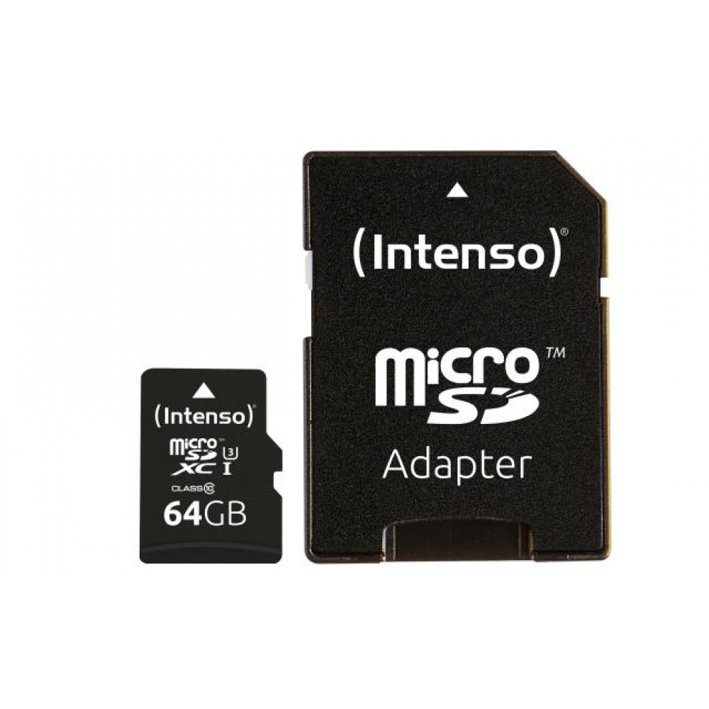 Карта пам'яті Intenso Micro SD Card PRO 64GB SDXC