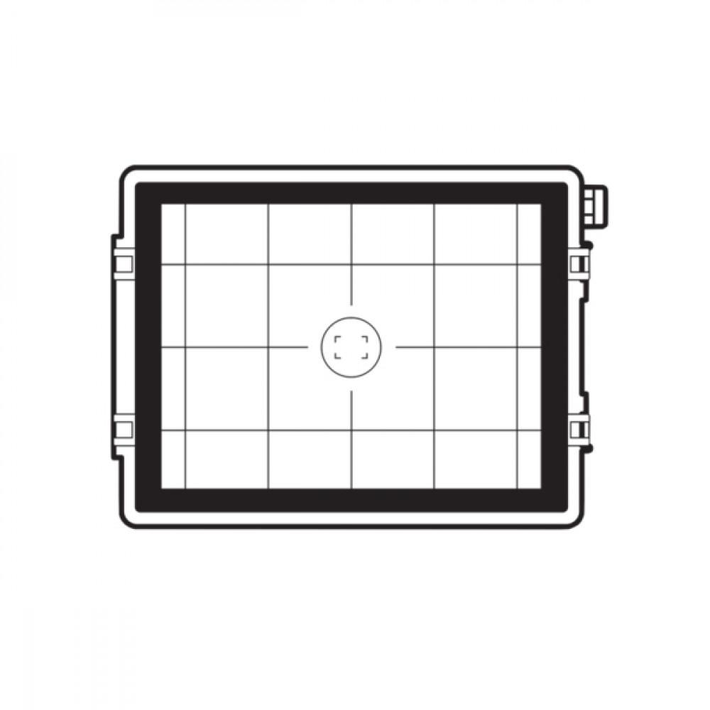 Екран фокусування 22/39/50 Мп CCD Grid